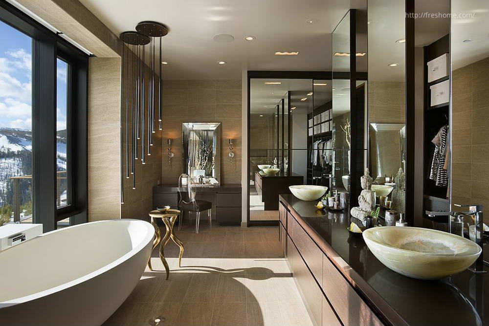 Luxus fürdőszoba