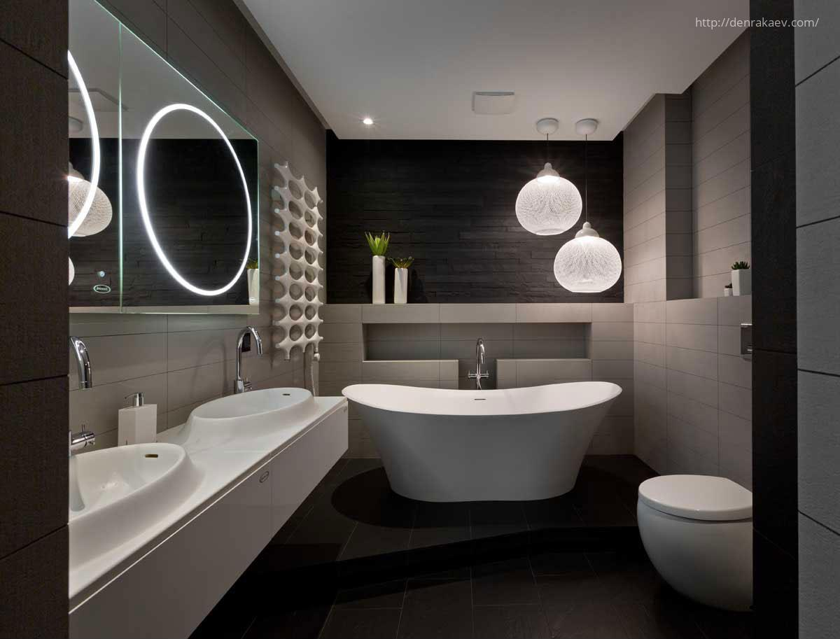 Modern f rd szoba for Toilet interior ideas