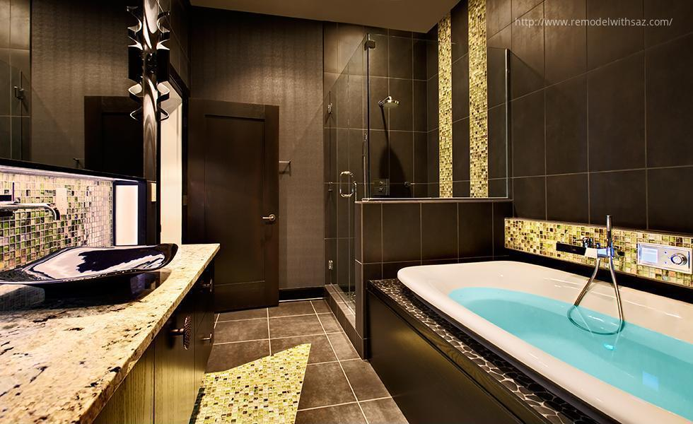 Barna fürdőszoba