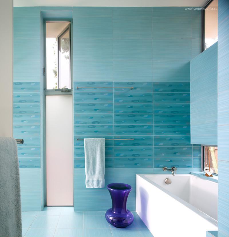 Világoskék Fürdőszoba Csempe ~ Otthoni Tervezés Inspiráció