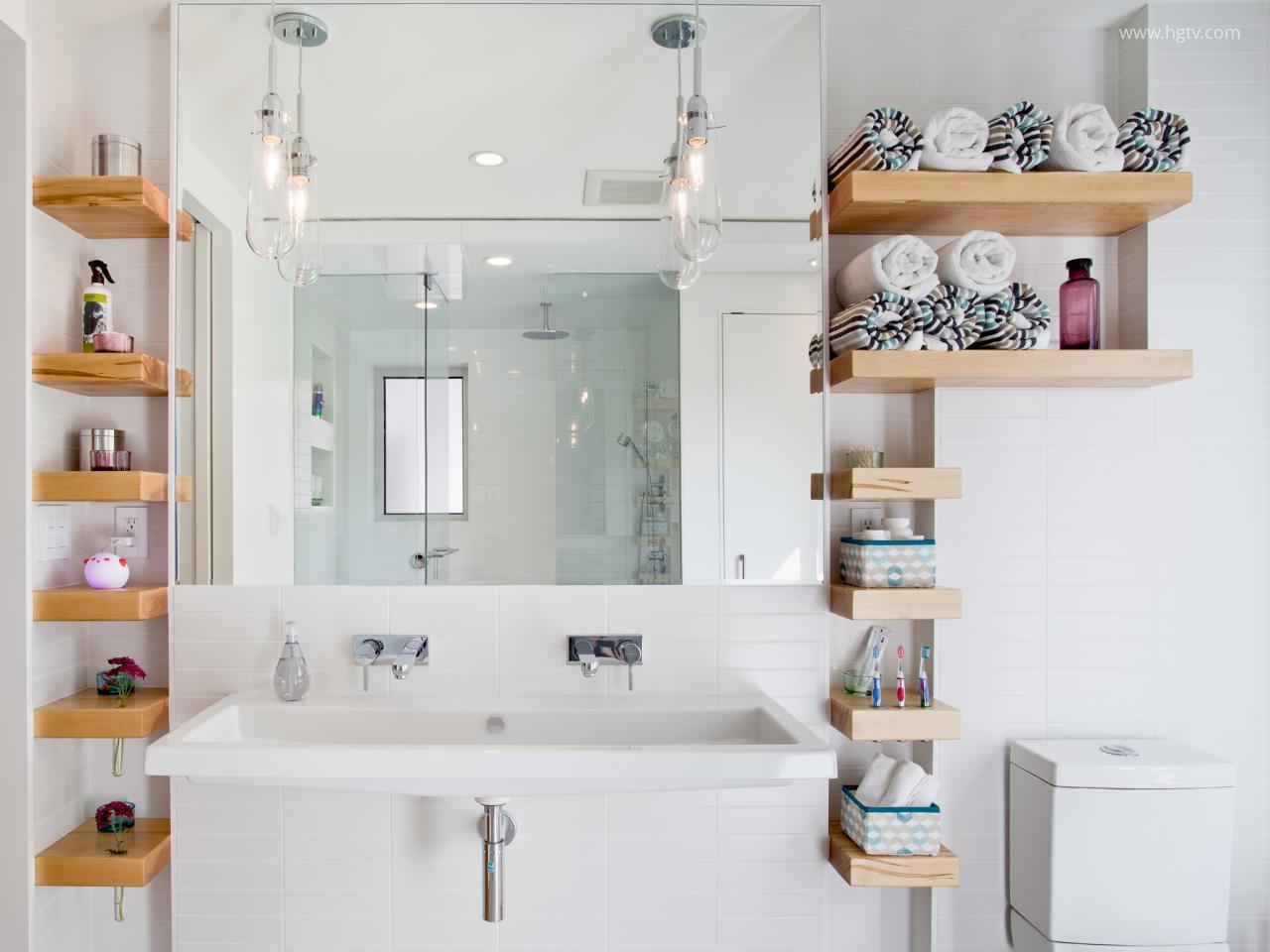 Lebegő polc a fürdőben // HOMEINFO.hu - Inspirációtár