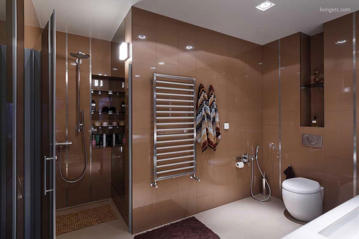 Modern fürdőszoba