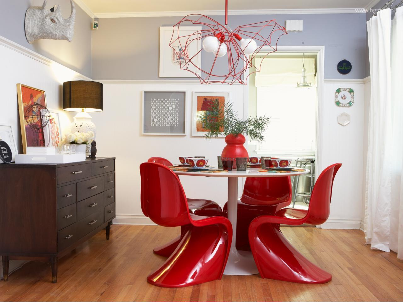 Piros Vitra székek // HOMEINFO.hu - Inspirációtár