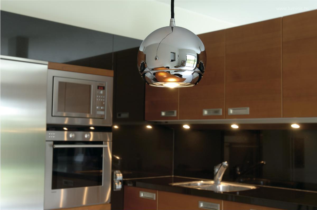 Modern lámpa a konyhában // HOMEINFO.hu - Inspirációtár