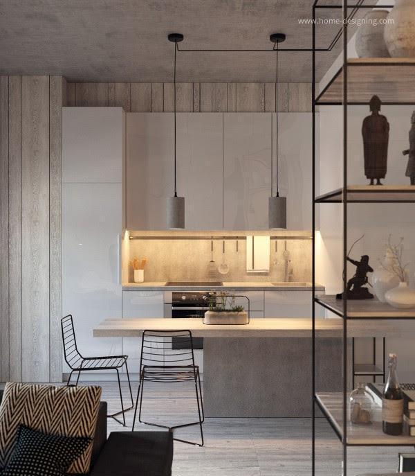 Modern kis konyha // HOMEINFO.hu - Inspirációtár