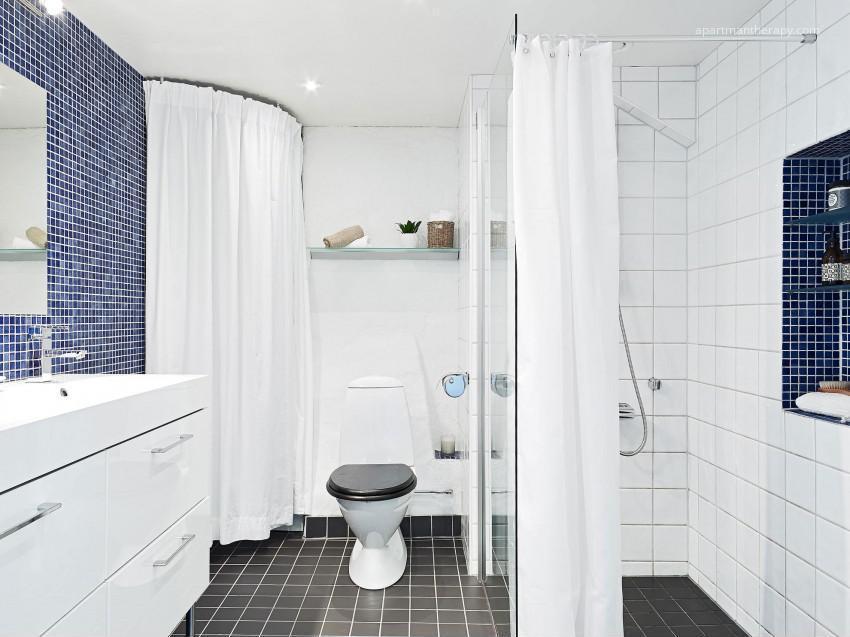 Kék fehér fürdőszoba // HOMEINFO.hu - Inspirációtár
