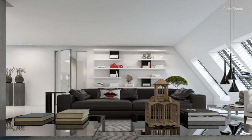 Tetőtéri nappali // HOMEINFO.hu - Inspirációtár