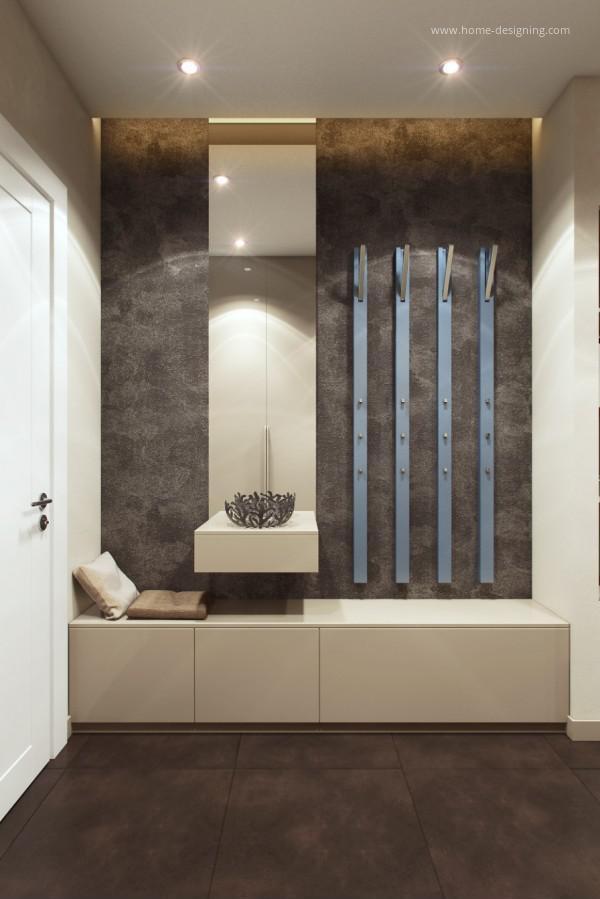 Modern Foyer Wall Designs : Modern előszoba homeinfo