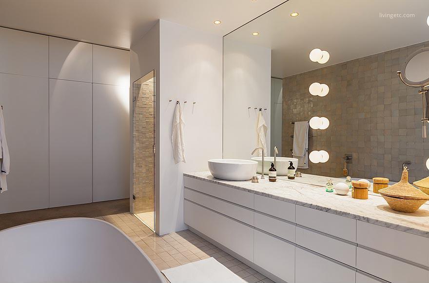 Fehér fürdőszoba // HOMEINFO.hu - Inspirációtár
