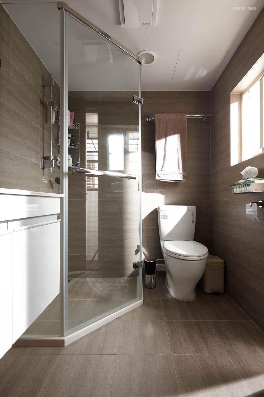 Kicsi fürdőszoba zuhanyfülkével