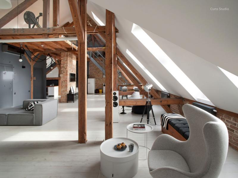 Tetőtéri lakás // HOMEINFO.hu - Inspirációtár