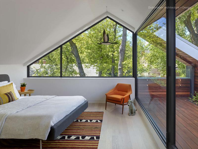 Tetőtéri hálószoba // HOMEINFO.hu - Inspirációtár