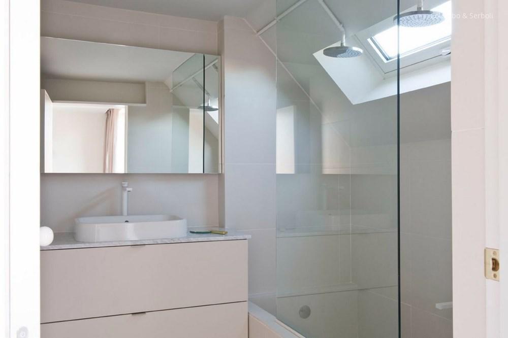 Kicsi fürdőszoba fehérben // HOMEINFO.hu - Inspirációtár