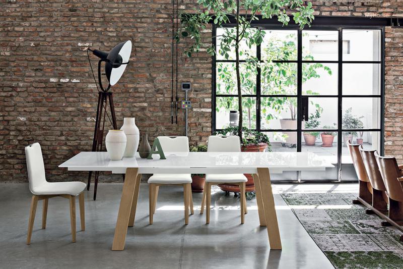 Giove wood kihúzható étkezőasztal // HOMEINFO.hu - Inspirációtár