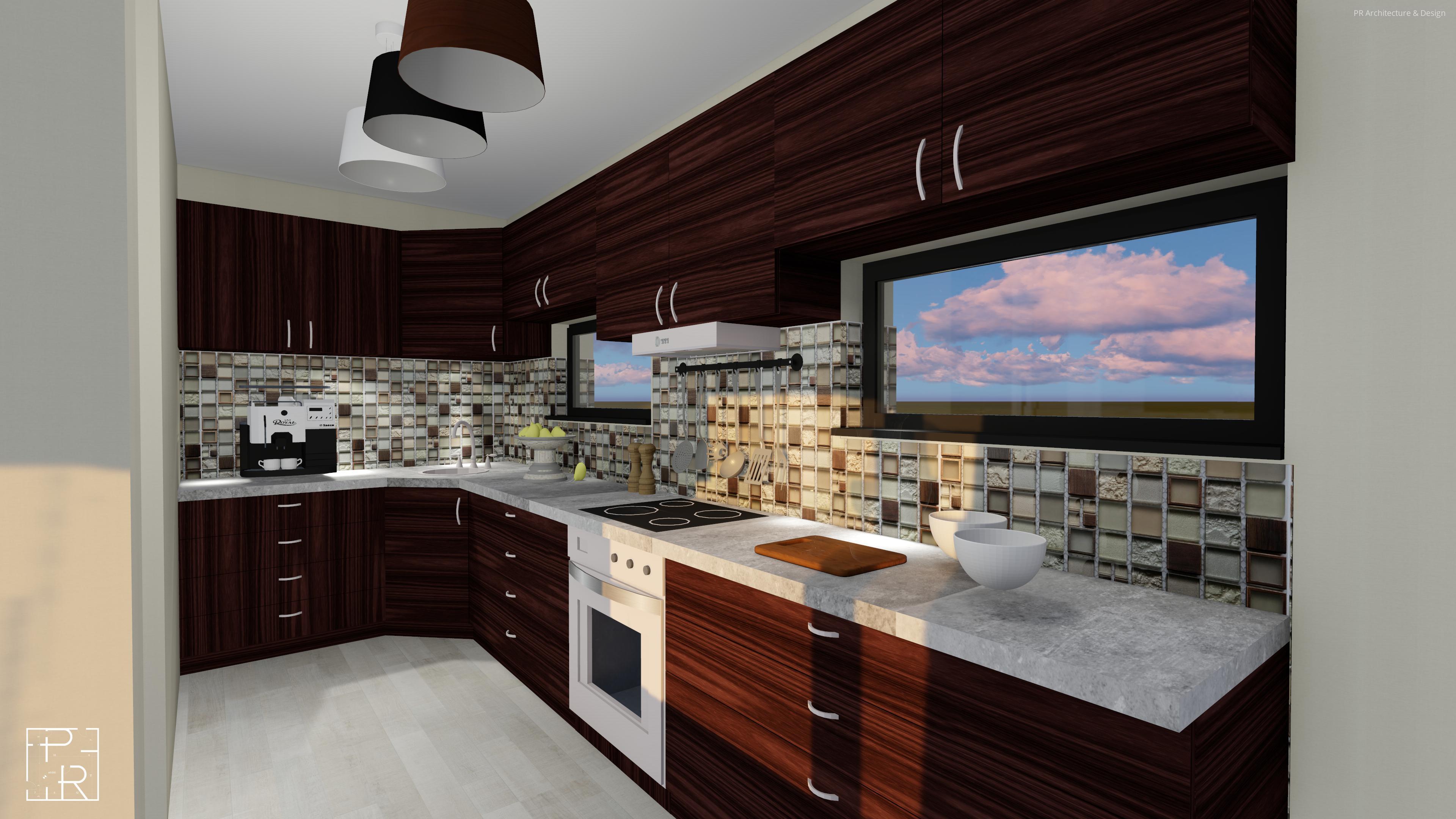 Egyedi falburkolat a konyhában // HOMEINFO.hu - Inspirációtár