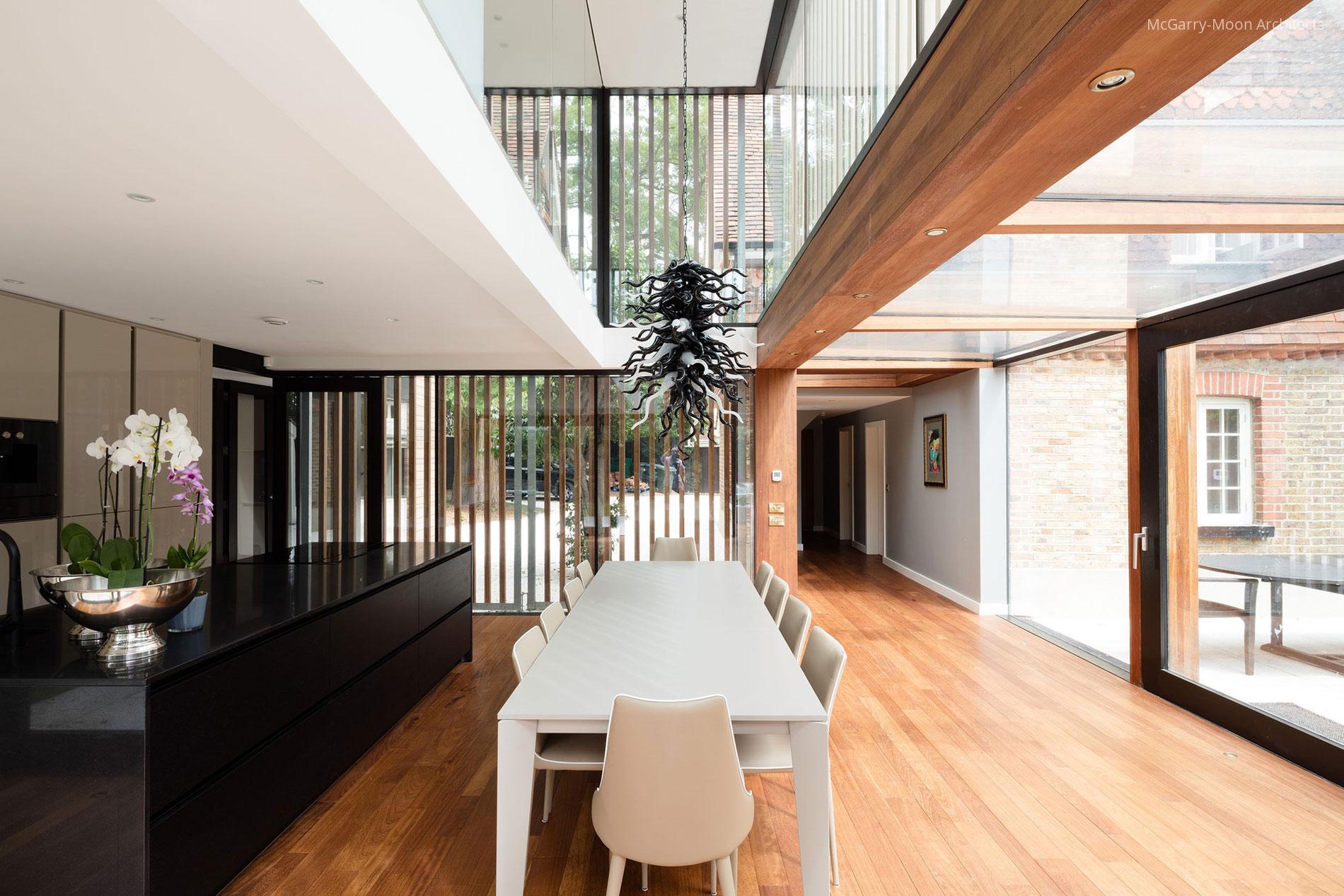 Üvegfalak a konyha körül // HOMEINFO.hu - Inspirációtár