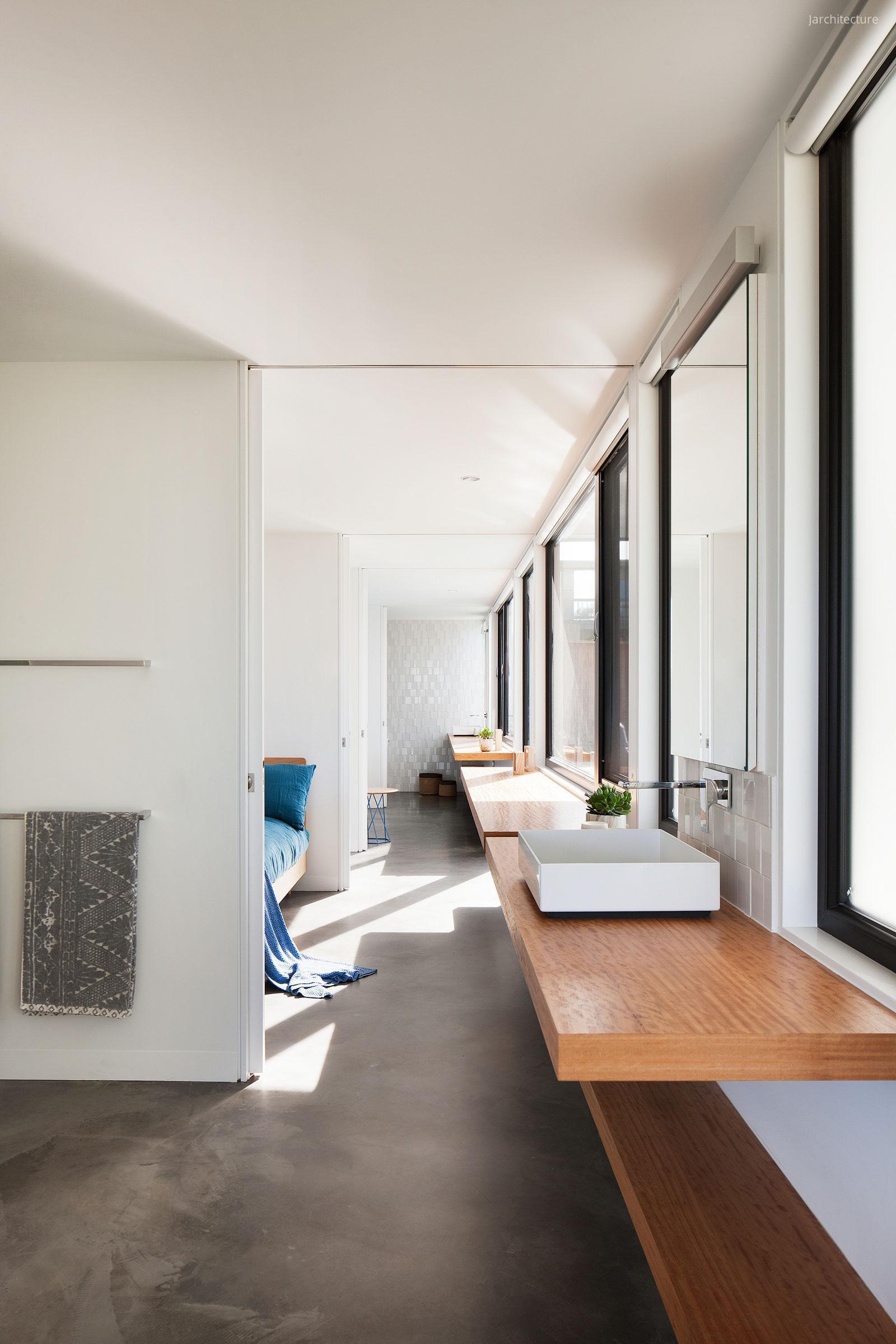 Fürdőszoba betonpadlóval // HOMEINFO.hu - Inspirációtár