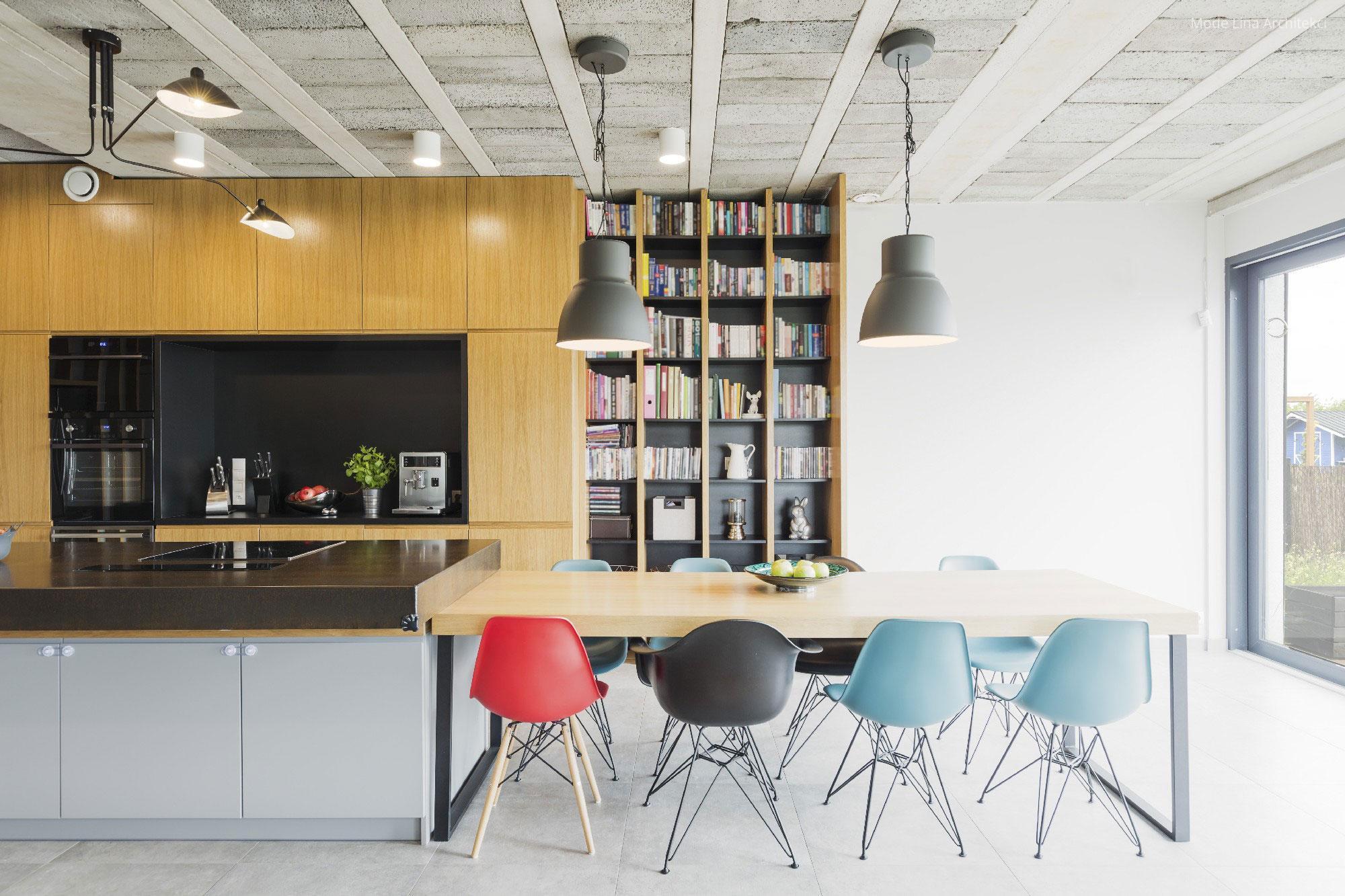 Ipari lámpák az étkezőasztal fölött // HOMEINFO.hu - Inspirációtár