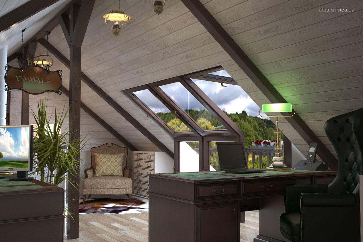 Tetőtéri dolgozószoba // HOMEINFO.hu - Inspirációtár