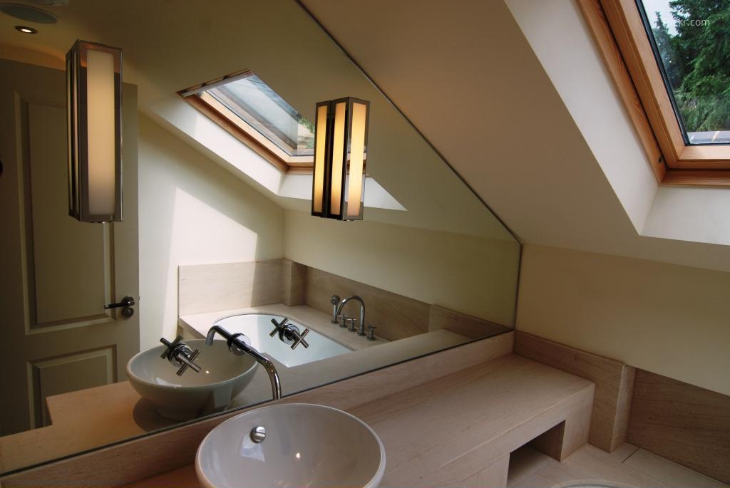 Tetőtéri fürdőszoba // HOMEINFO.hu - Inspirációtár