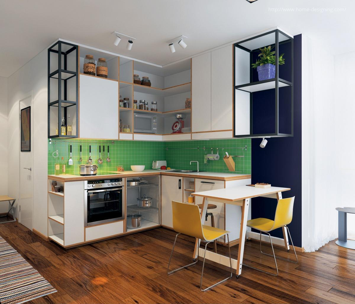The Best Airbnb Cities For Home Decor Ideas: Színes Konyha