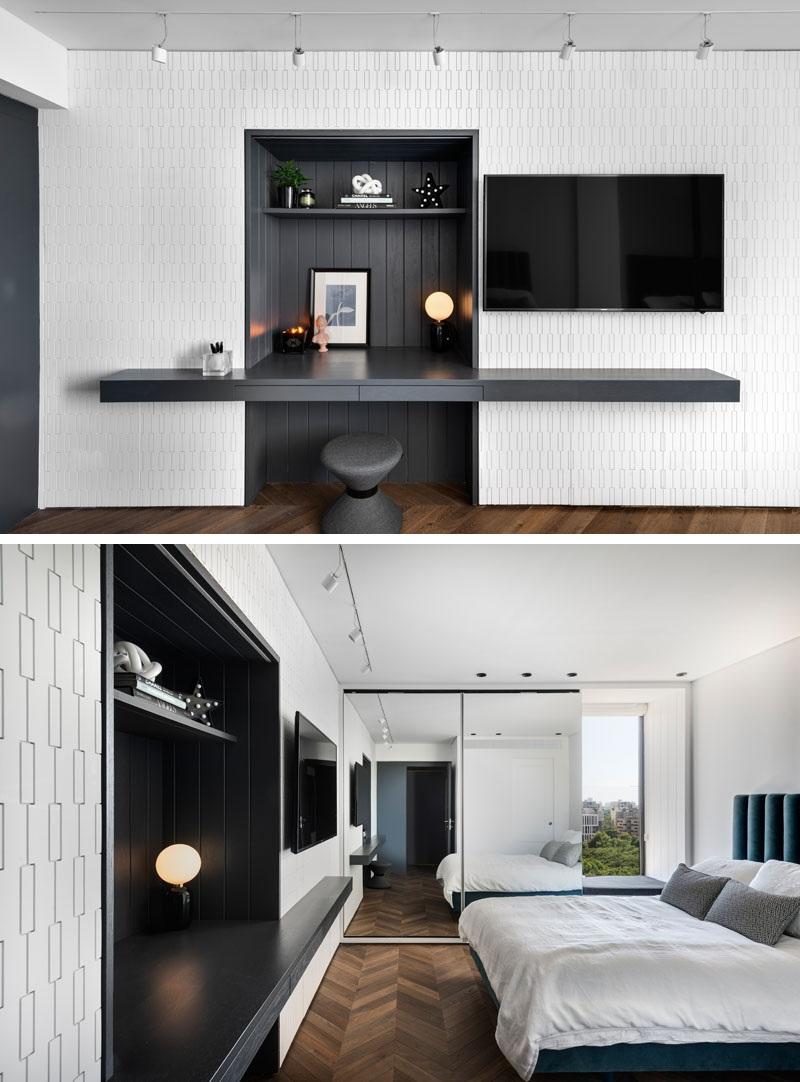 Elbűvölő luxus érzés: metálkék és fekete a lakásban full_6
