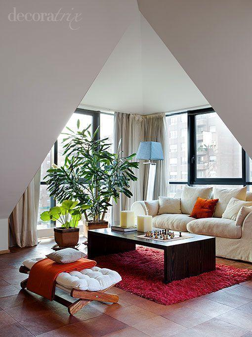 Egy tet t ri lak s blogt r - Dormitorios en buhardillas ...