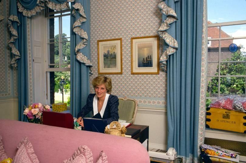 Hogyan dekorálta a lakásukat Princess Diana? full_1