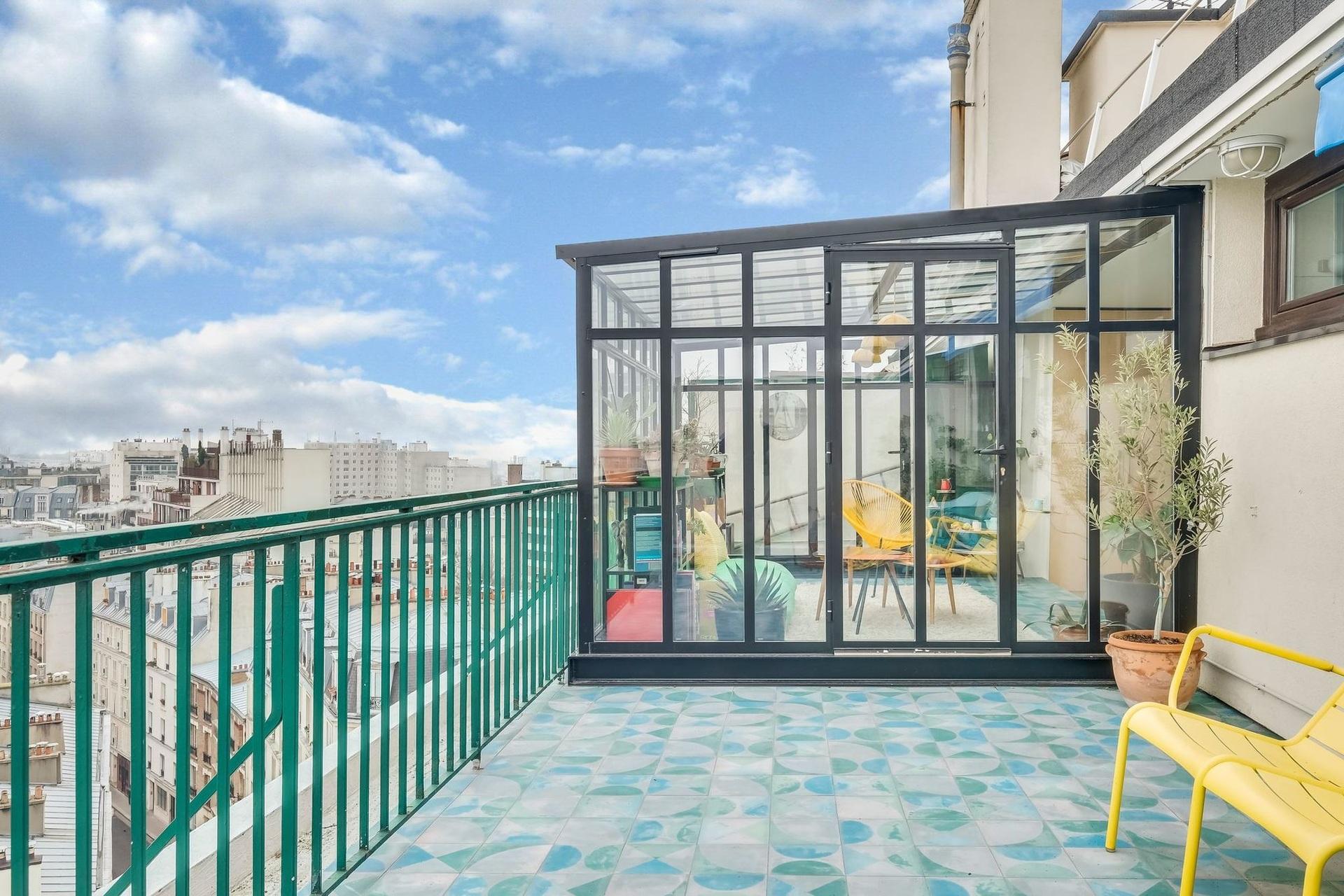 Különleges párizsi lakás télikerttel full_9