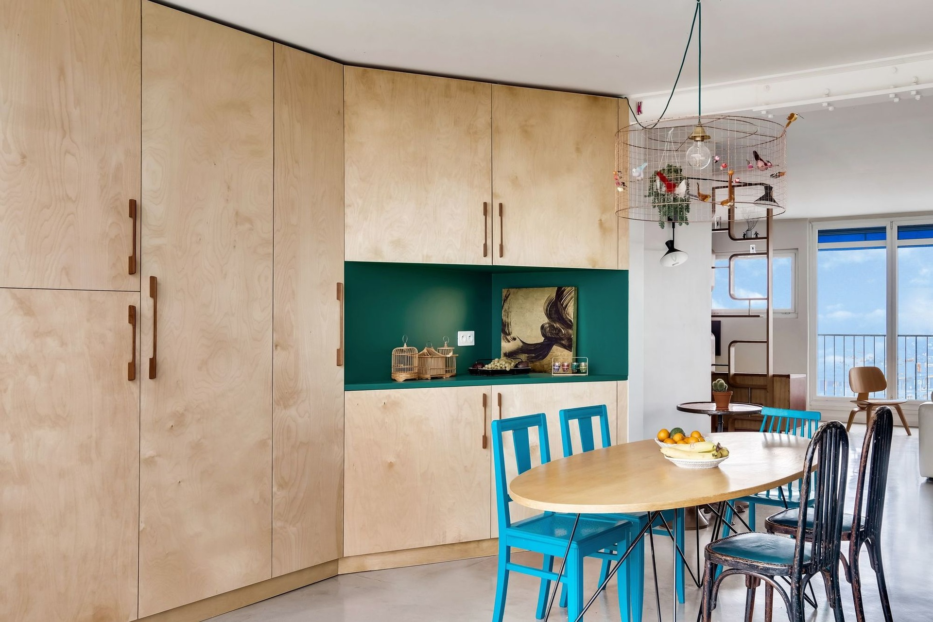 Különleges párizsi lakás télikerttel full_6